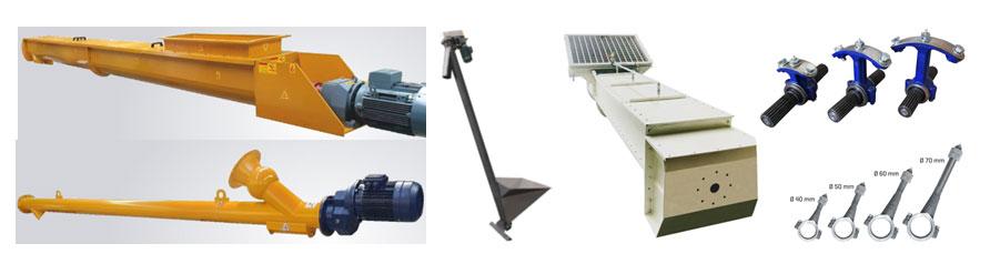 Sisteme transportoare cu snec